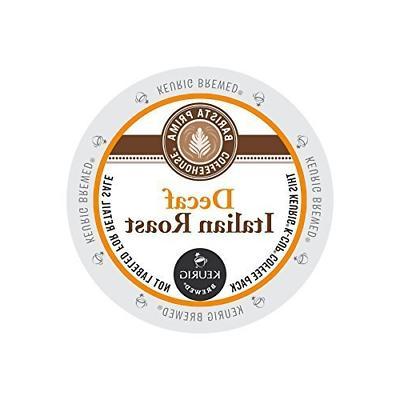 Barista Prima Coffeehouse Decaf Italian Roast KCups 96ct by