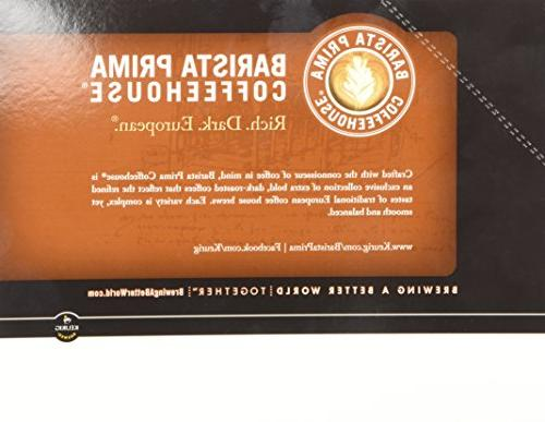 Barista Prima Coffeehouse, Italian Dark Roast K-Cup Portion Pack for 24- Count