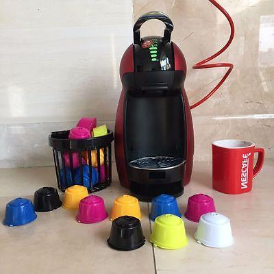 Colorful Reusable Coffee K-cups Capsule Pods