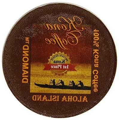 Aloha Island Coffee Company Private Reserve Diamond Pure Kon
