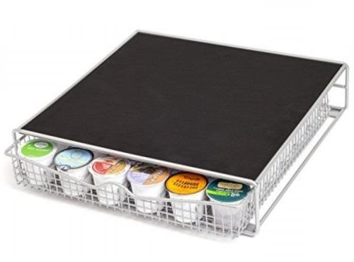 36 K Cup Holder Rack Storage fits Keurig Coffee Pod Chrome D