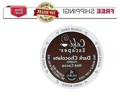 Cafe Escapes DARK CHOCOLATE HOT COCOA Keurig K-cups PICK THE