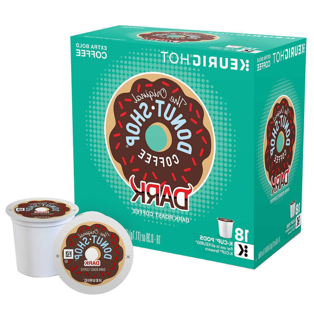 dark coffee 18 to 90 keurig k
