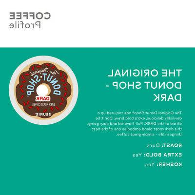 The Dark Coffee, Keurig K-Cup Pod, 72 Count
