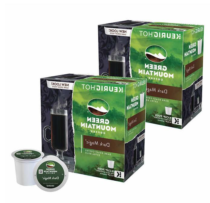 Dark Magic 180 K-cups Green Mountain Coffee Keurig Pods Dark