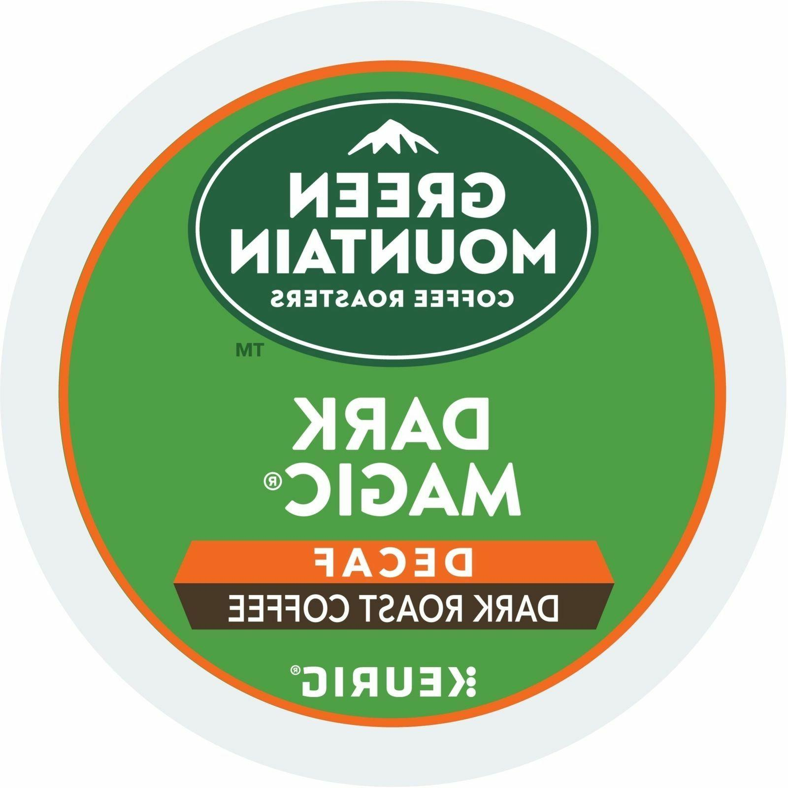 Green Mountain Dark Magic DECAF Coffee 24 to 96 Keurig K cup