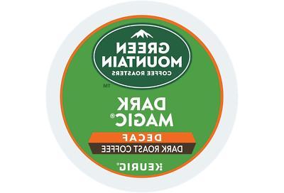 Green Mountain Coffee Dark Magic Decaf Extra Bold Coffee Keu