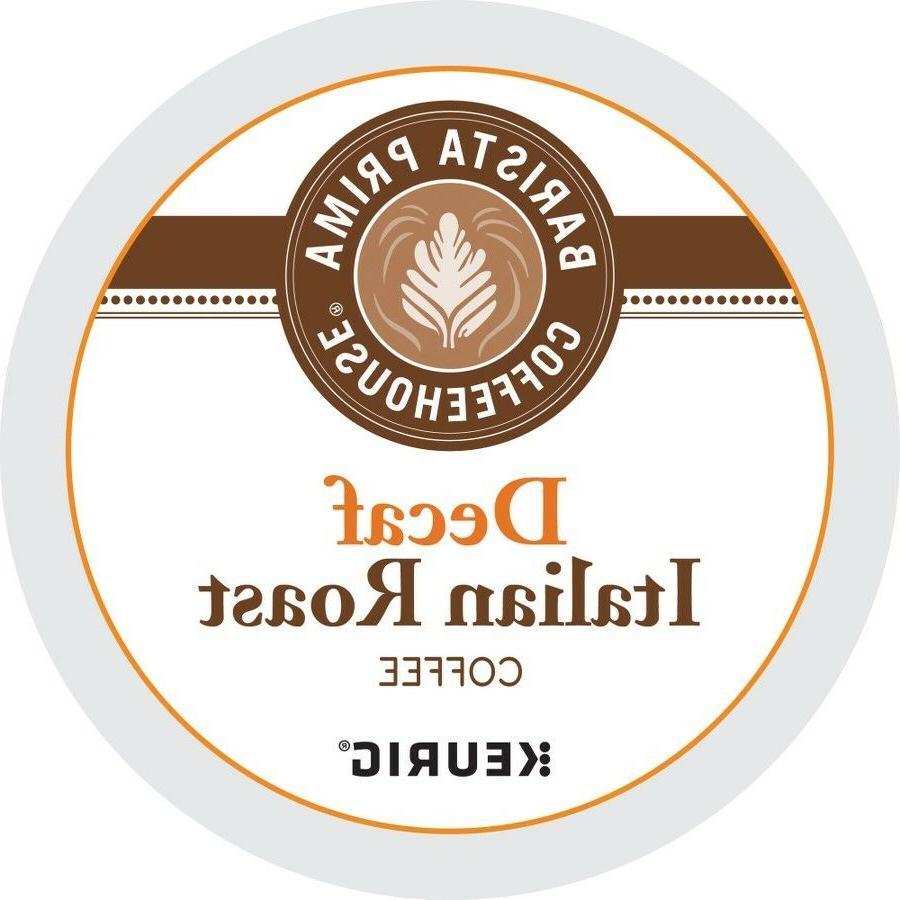 Barista Prima Coffeehouse DECAF Italian Roast 24 to 144 K cu
