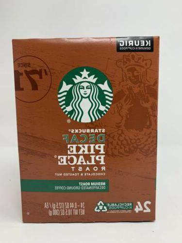 STARBUCKS Coffee K-Cups 96 count Best By October