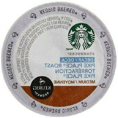 Starbucks Decaf Pike Place Roast, K-Cup for Keurig Brewers,