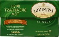 Twinings Decaffeinated Irish Breakfast Tea, 20 ea