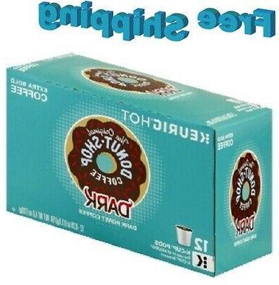 donut shop dark coffee k
