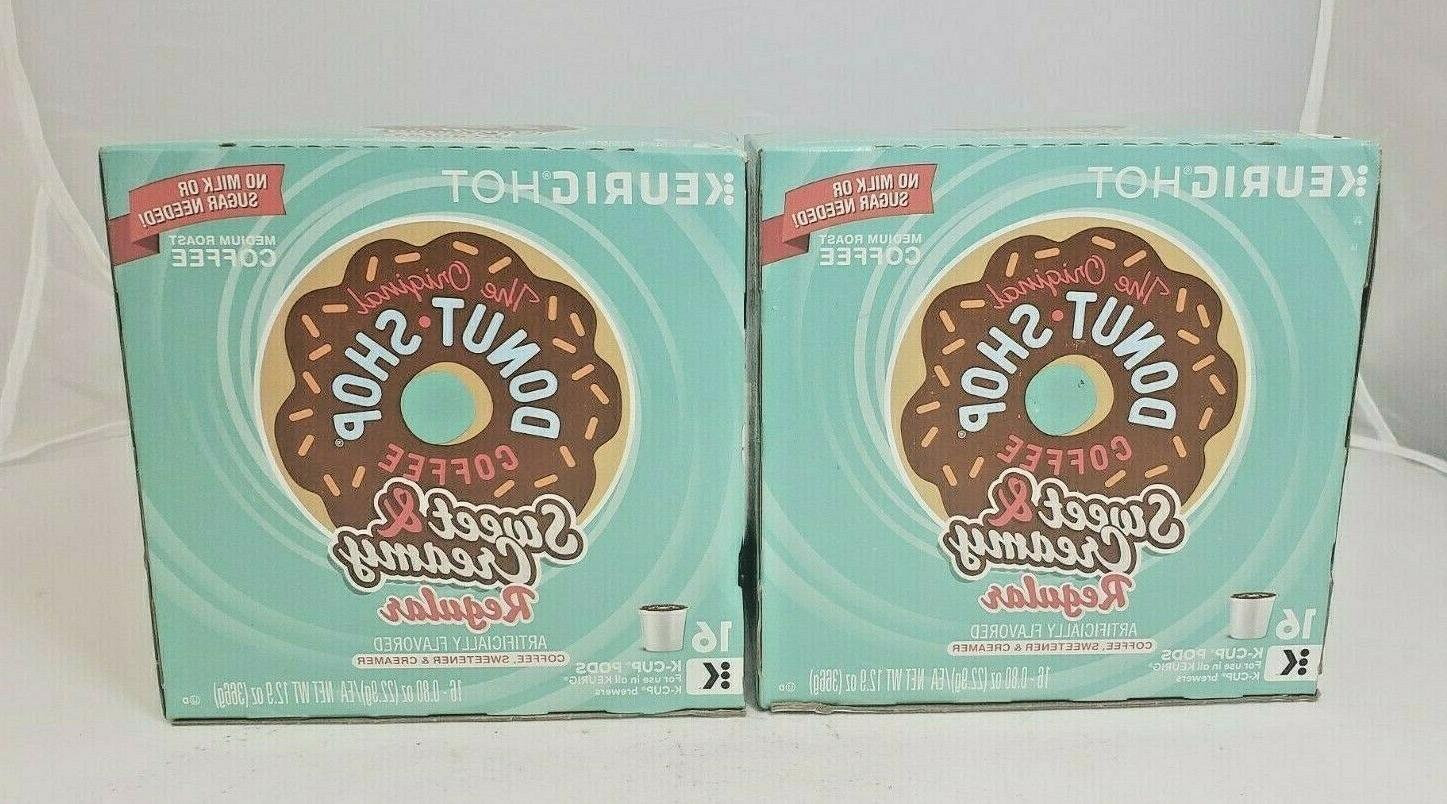 Keurig® The Original Donut Shop Sweet & Creamy 16-Pk. K-