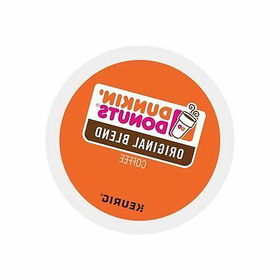 Dunkin Donuts 72 K Cups Original Blend Coffee Pods  Medium R