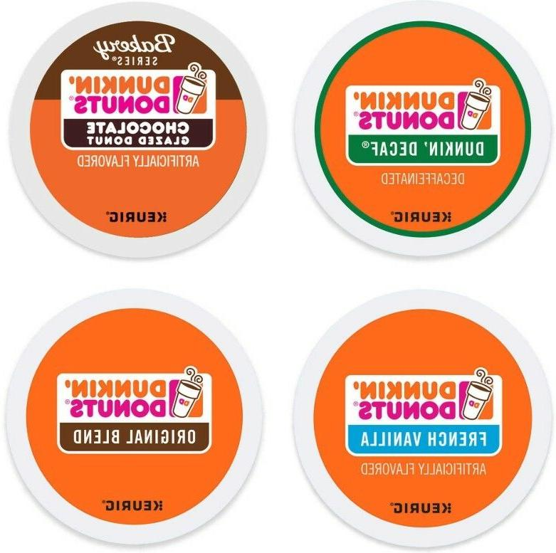 Dunkin Donuts Coffee Keurig Hot K Cups Single Serve PICK ANY