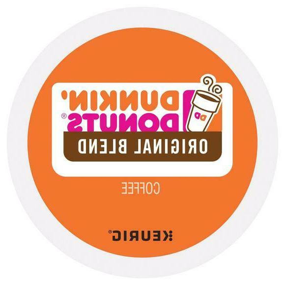 dunkin donuts coffee origanal blend k cups