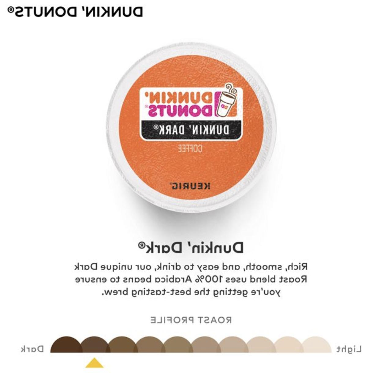 Dunkin Donuts Dark K-Cups 24-96 Count FREE SHIPPING