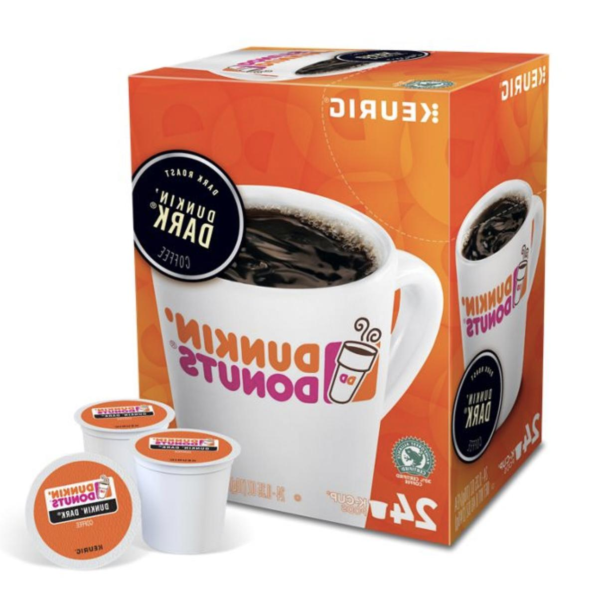 Dunkin Donuts K-Cups 24-96 Count - FREE