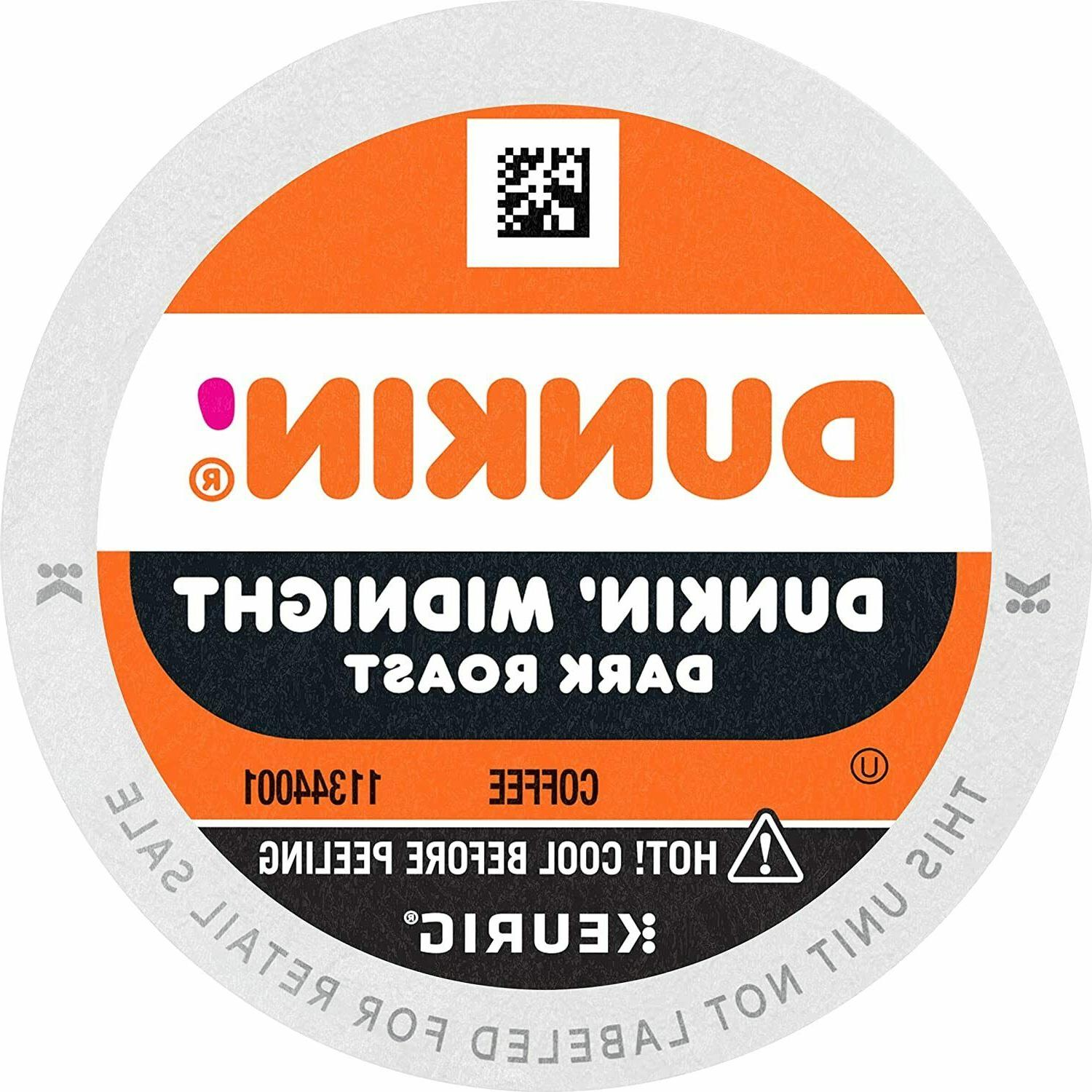 Dunkin' Donuts Dark Roast Coffee 24 to 96 Keurig K cup Pick