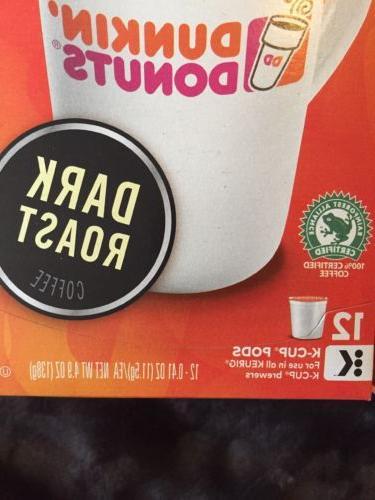 "Dunkin' ""Dark K-Cups"