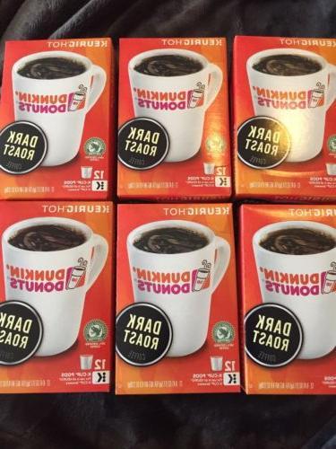 dunkin donuts dark roast k cups 72