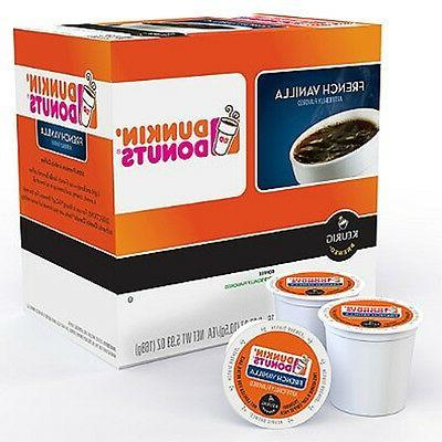 Dunkin' Donuts French Vanilla Coffee Keurig K-Cups - 16 Coun