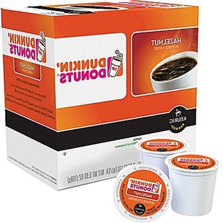 Dunkin' Donuts Hazelnut Regular Caffeinated Coffee Keurig K-