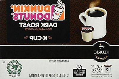 dunkin donuts k cups dark roast 96
