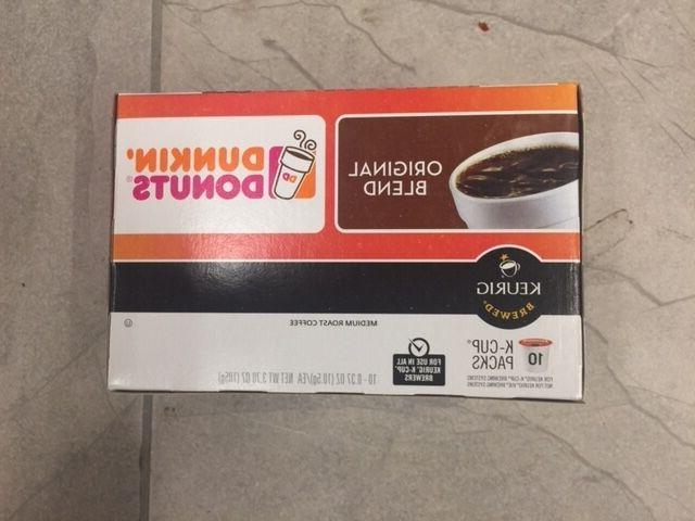 Dunkin Donuts K-Cups for Keurig Brewers 10 or 20 pack - You
