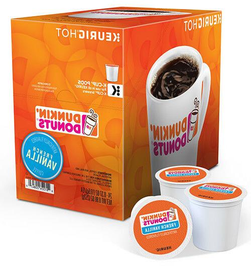 dunkin donuts keurig k cups french vanilla