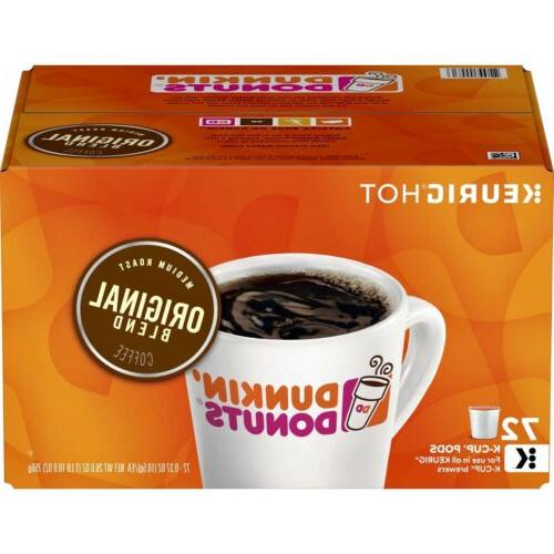 dunkin donuts original blend keurig coffee k