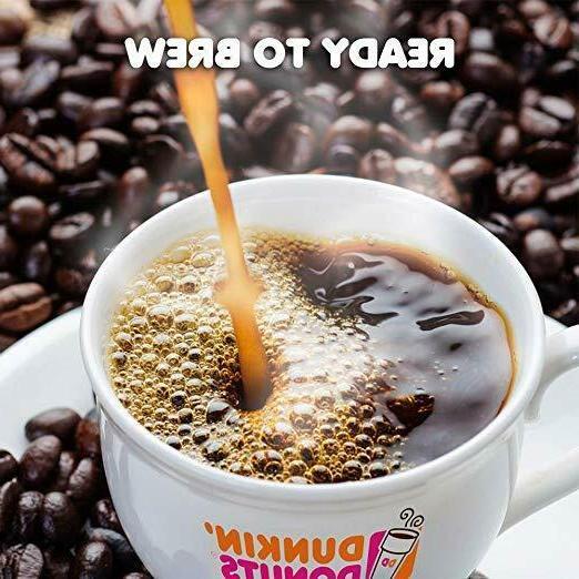 Dunkin' Donuts Original Medium Roast Coffee, K Cups for Keurig Brewers