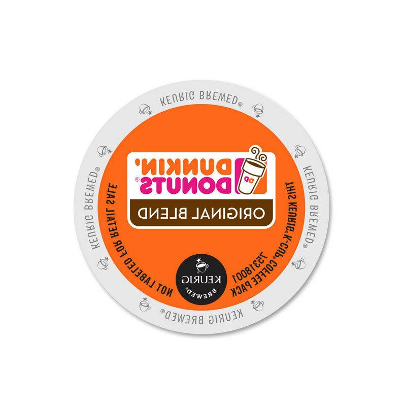 dunkin donuts original coffee k cups 60ct
