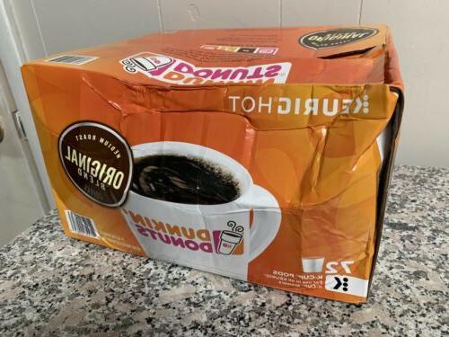dunkin donuts original medium roast k cups