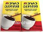 Cafe Bustelo Espresso Instant Coffee Lot of 2 NEW 12 Packets