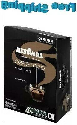 espresso italiano coffee keurig k cups