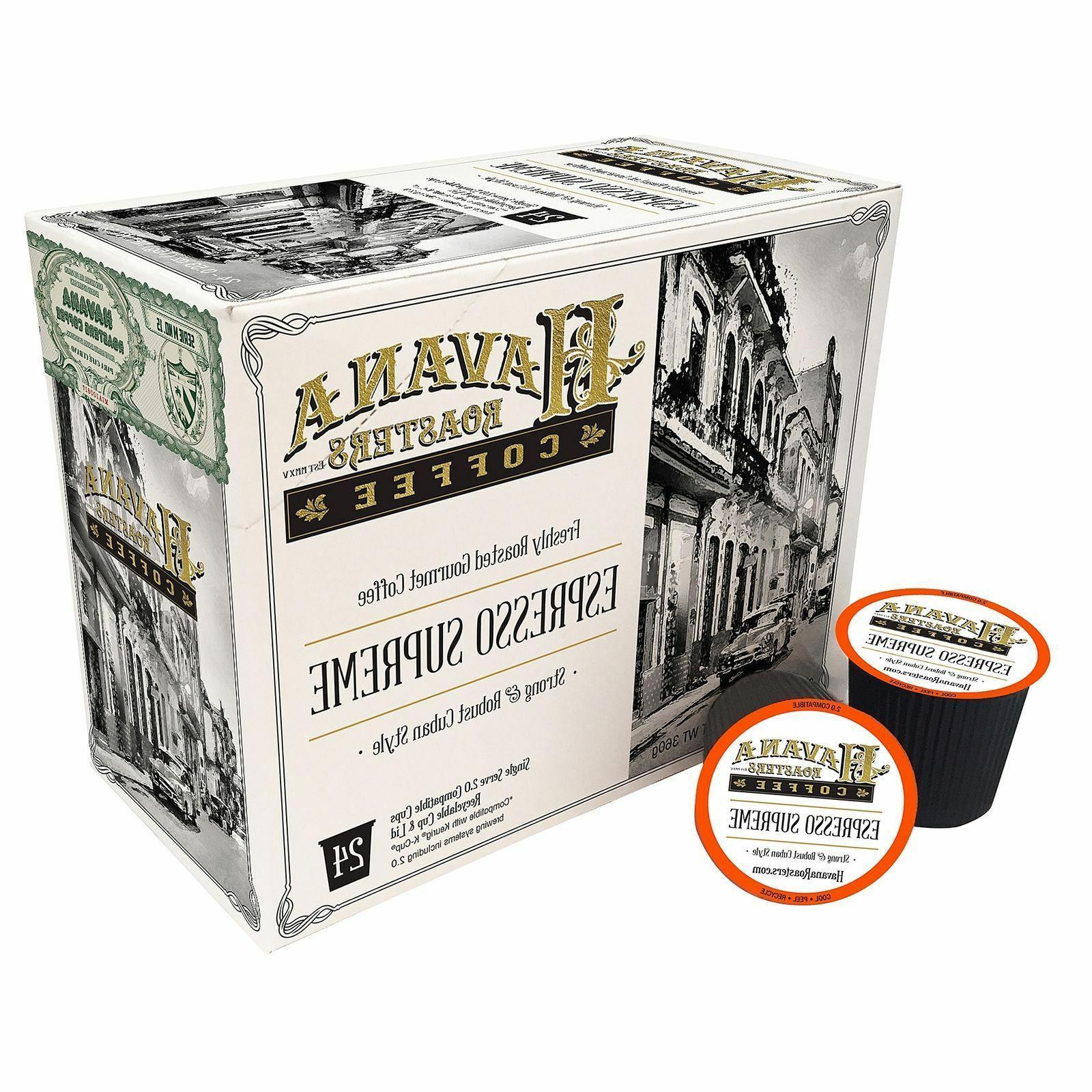 espresso supreme coffee 24 to 80 keurig
