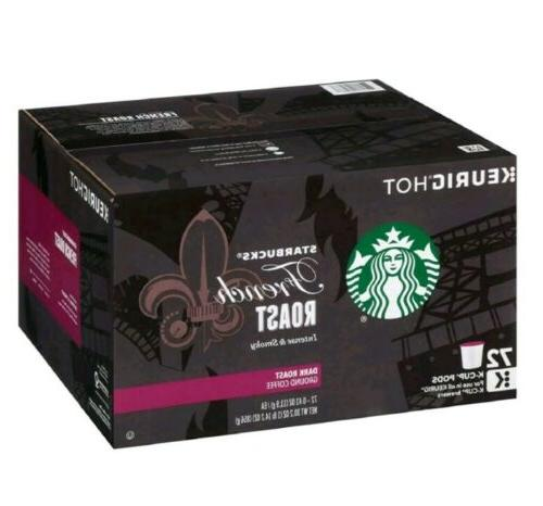 french roast coffee k cups 64 ct