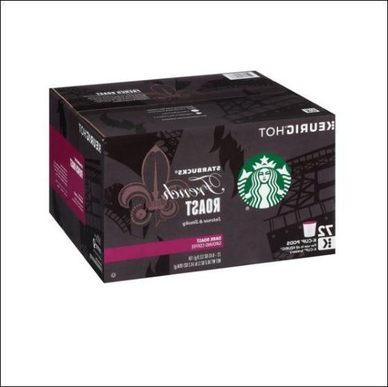 french roast coffee k cups 72 ct