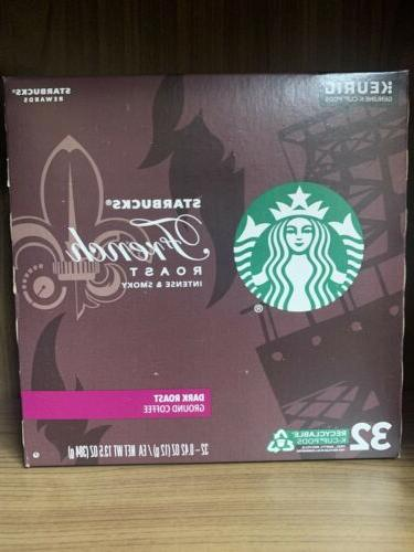 Starbucks French Roast Roast Coffee Count Loose Cups