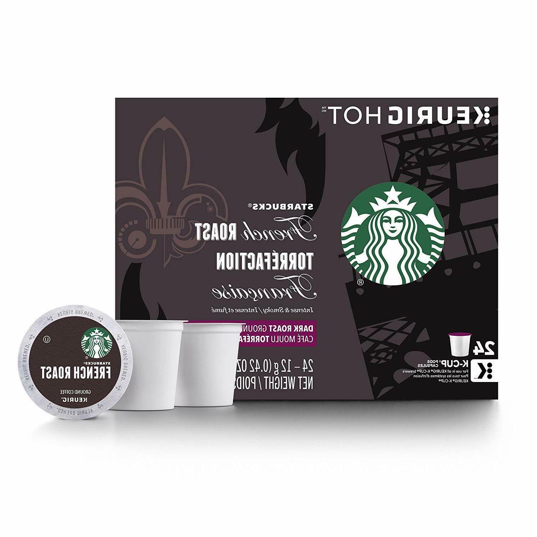 Starbucks Roast Dark 48 K-Cups For Keurig Brewers