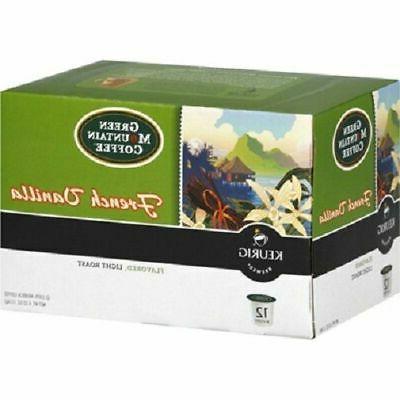 FRENCH VANILLA Green Mountain Coffee Keurig 2.0 Single-Serve