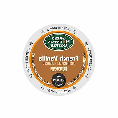 Green Mountain Coffee French Vanilla Decaf Coffee Keurig K-C