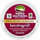 Green Mountain Gingerbread Coffee 24 to 96 K cups Pick Any S
