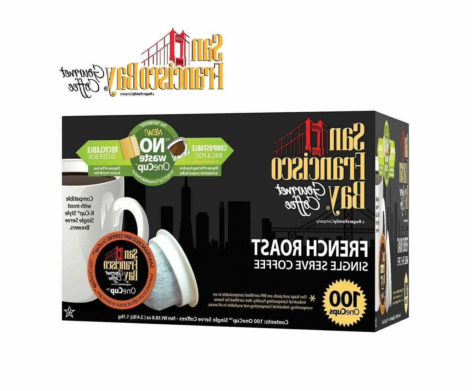 gourmet coffee french roast single serve cups
