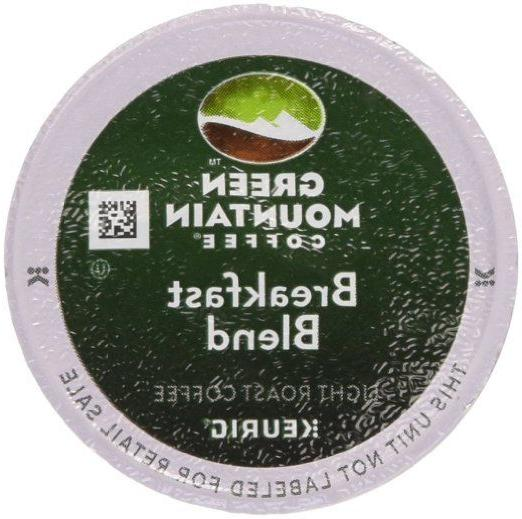 Green Mountain Breakfast Blend Light Roast Coffee K-Cups 96