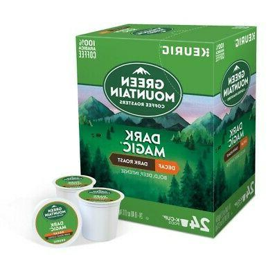 Green Mountain Coffee Magic Keurig Pod, Dark Count