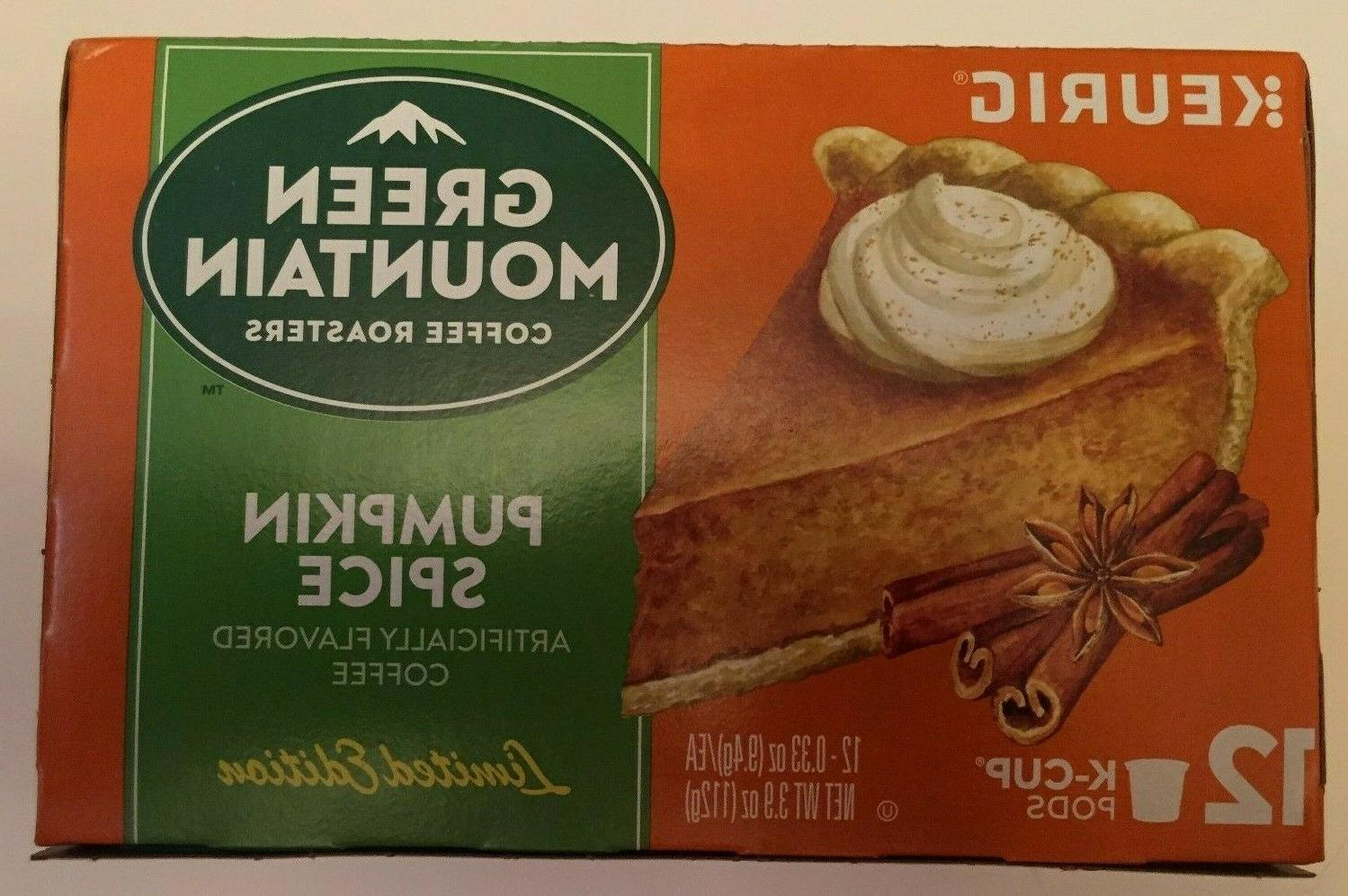 green mountain pumpkin spice k cups 100