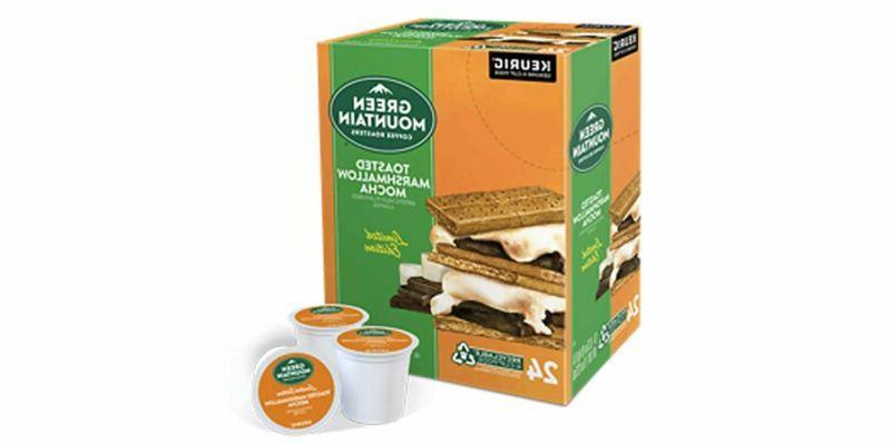 green mountain toasted marshmallow mocha seasonal selections