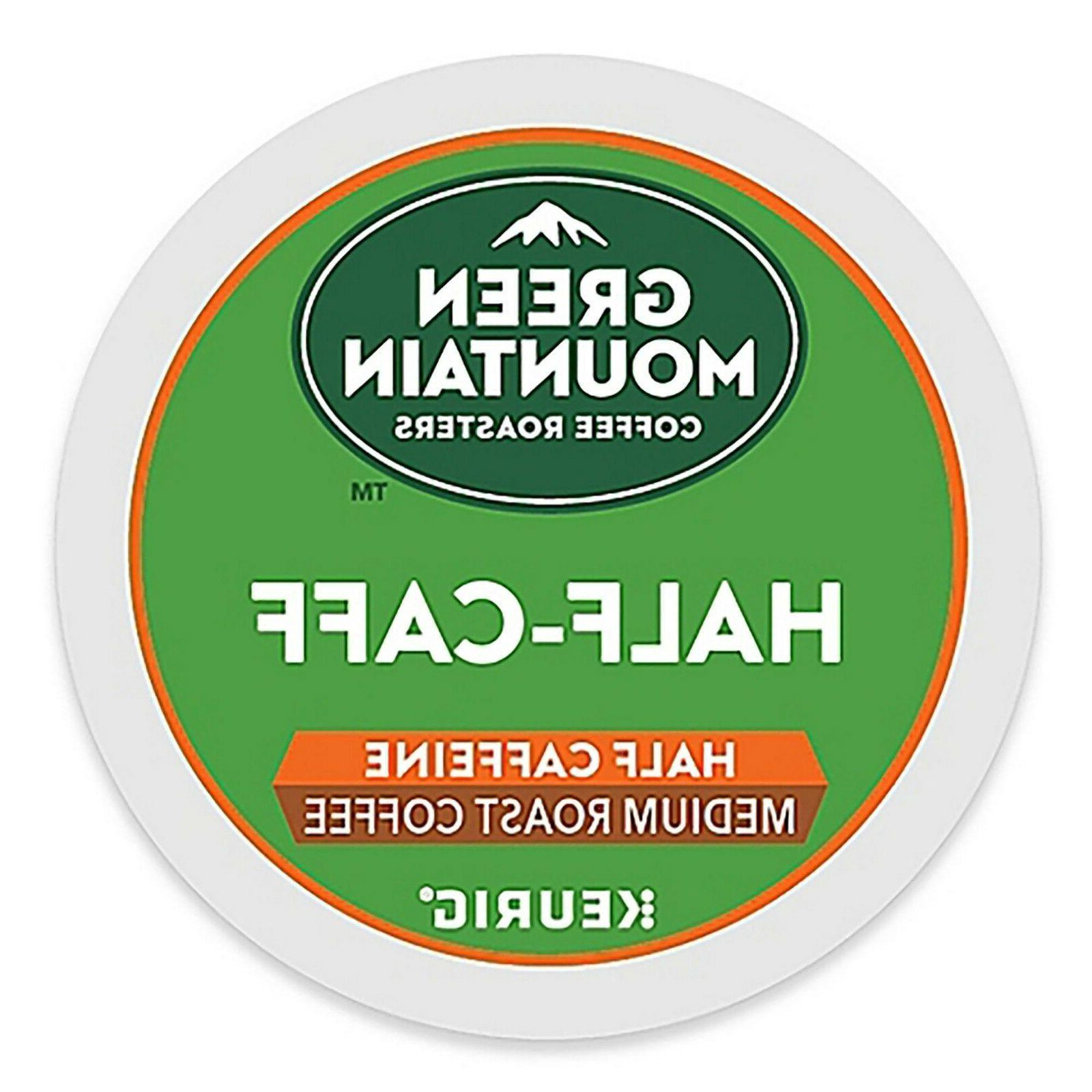 half caff coffee 24 to 96 keurig